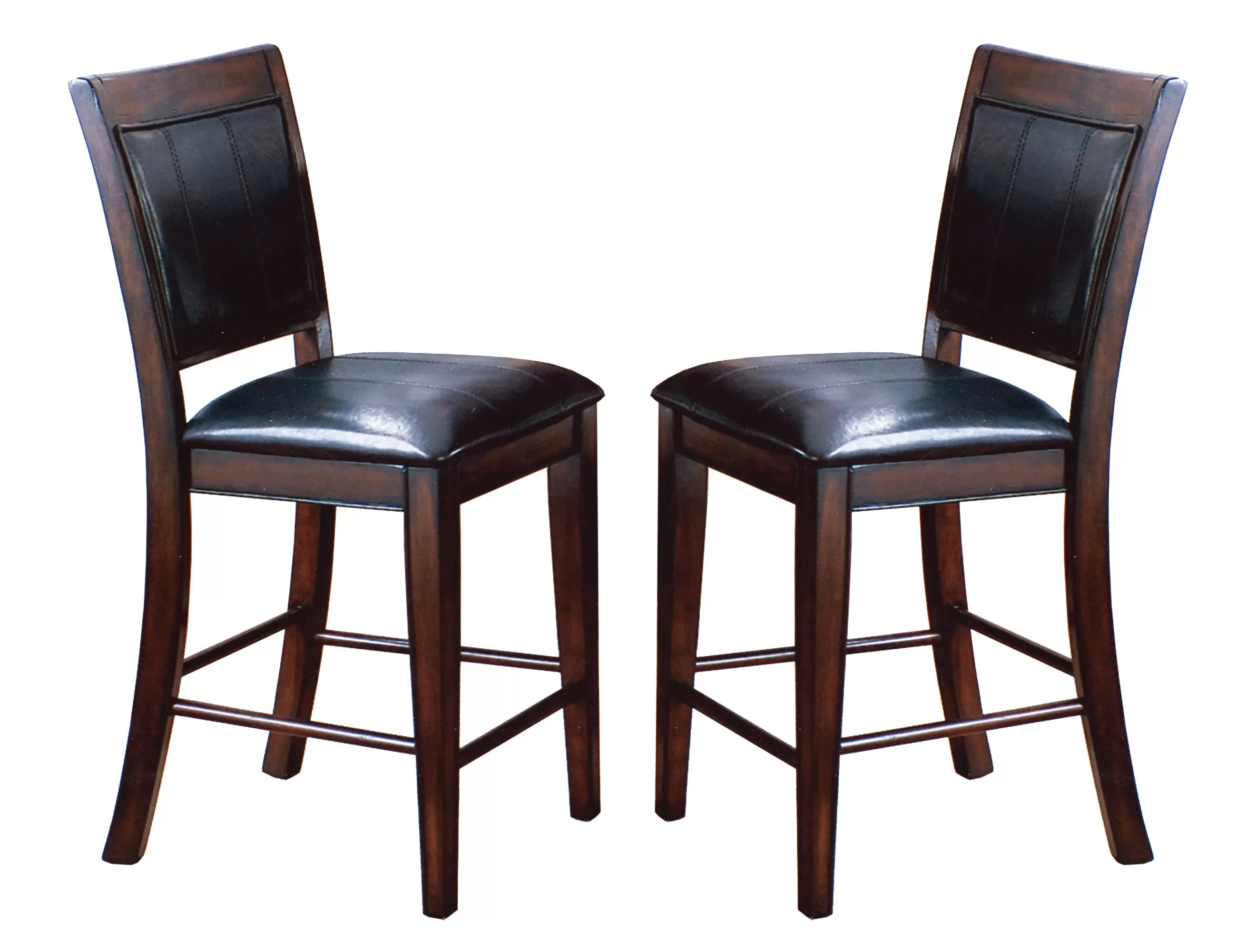 upholstered counter height chairs portable floor chair india crown mark fulton dining reviews wayfair