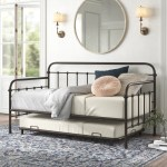 Kelly Clarkson Home Connie Twin Metal Daybed With Trundle