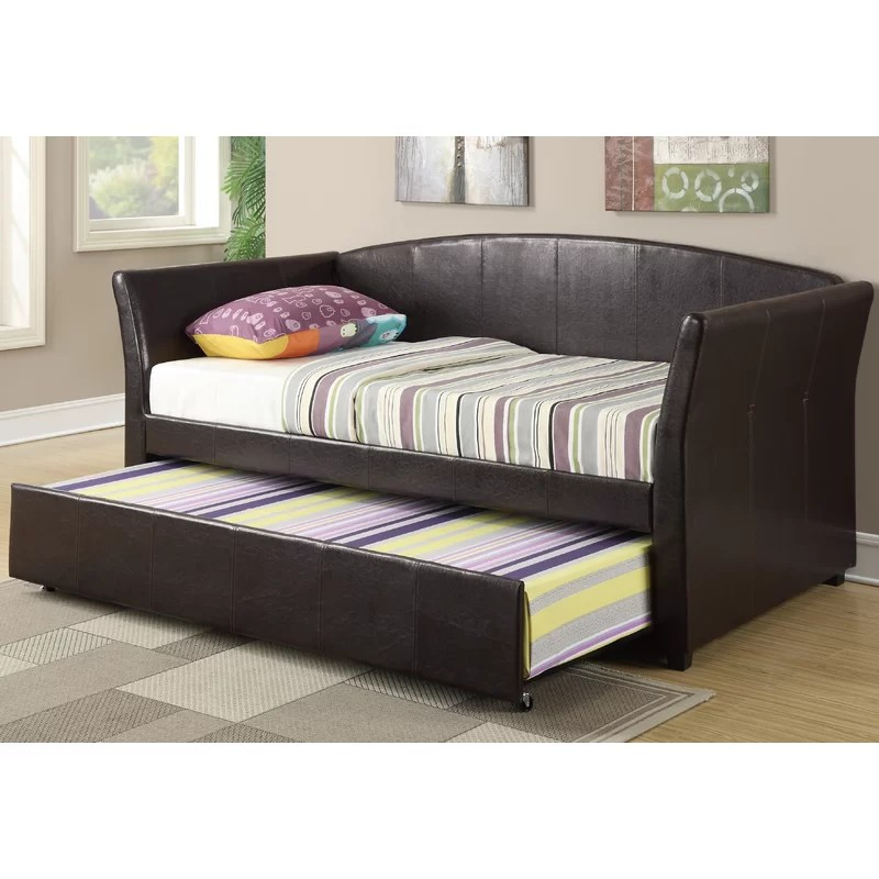 Huntington Twin Daybed with Trundle Color: Espresso