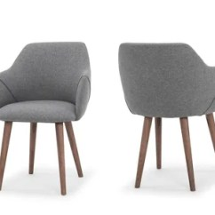 All Modern Leather Dining Chairs Sideline For Basketball Gerald Upholstered Chair Allmodern