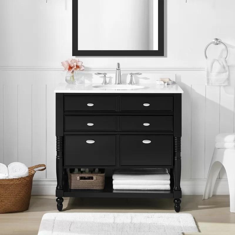 Joss Main Barbey 36 Single Bathroom Vanity Set Reviews Wayfair