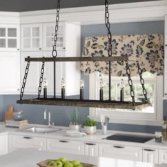 Kitchen Island Pendant Lights Cost Pendants Joss Main Inez Western Bronze Dwelling 5 Light