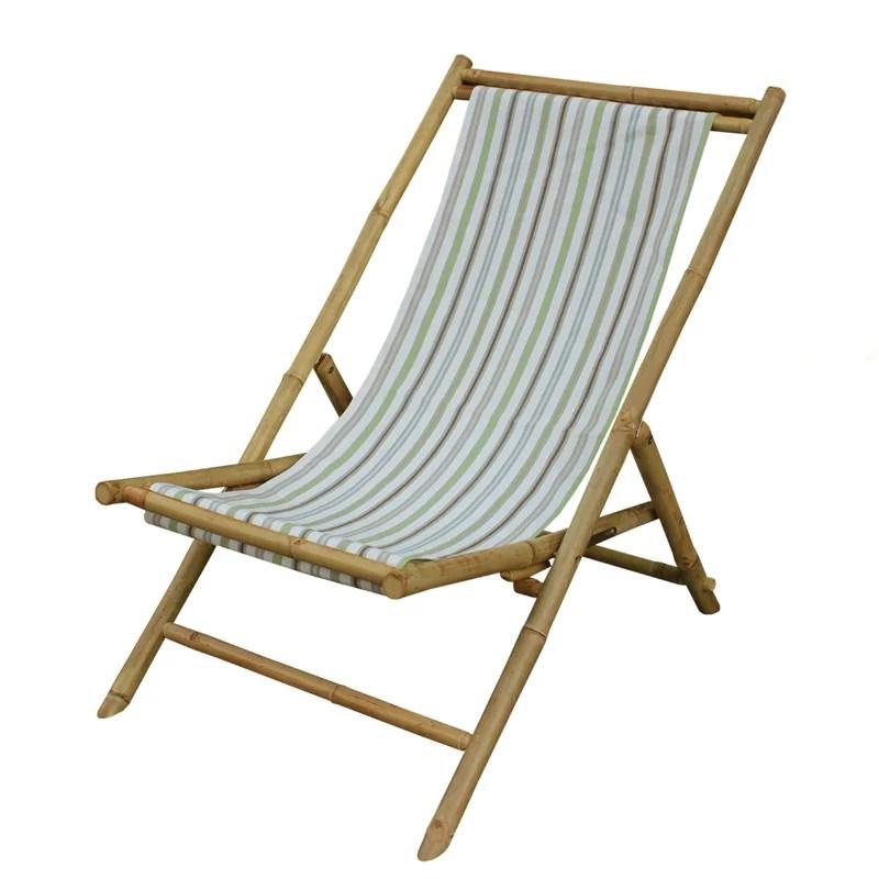 sling folding beach chair