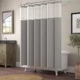 stand up shower curtain wayfair