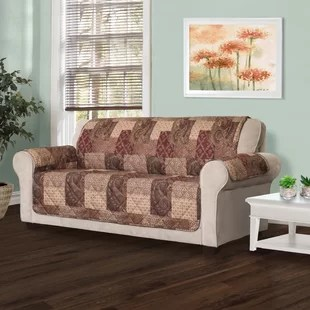 sofa covers toronto canada 3 piece sectional with chaise slipcover slipcovers you ll love wayfair ca t cushion