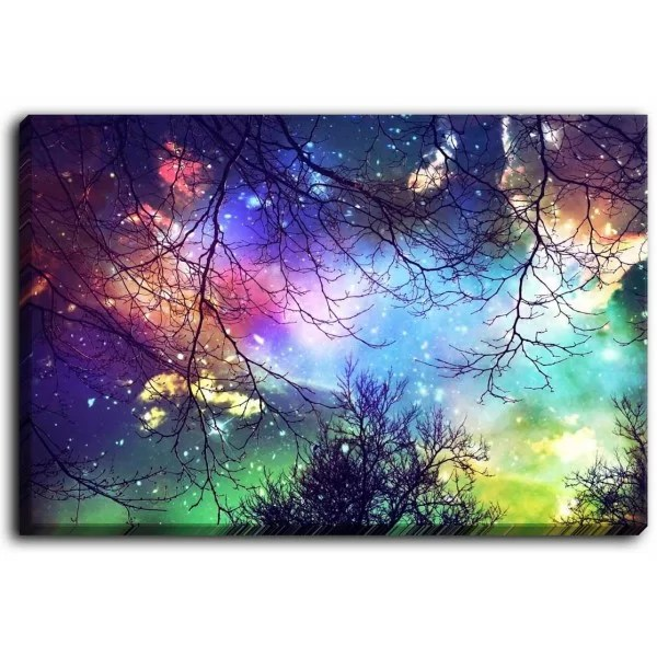 Look to the Stars by Sylvia Cook Graphic Art on Wrapped Canvas Size: 16 H x 12 W x 1.5 D