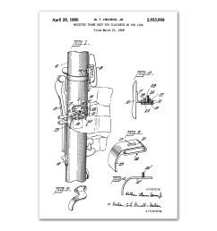 williston forge vintage clarinet patent graphic art print on canvas wayfair ca [ 2000 x 2000 Pixel ]