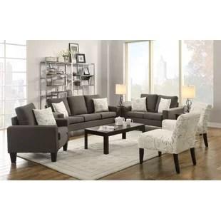 modern living room sets retro furniture italian set wayfair configurable