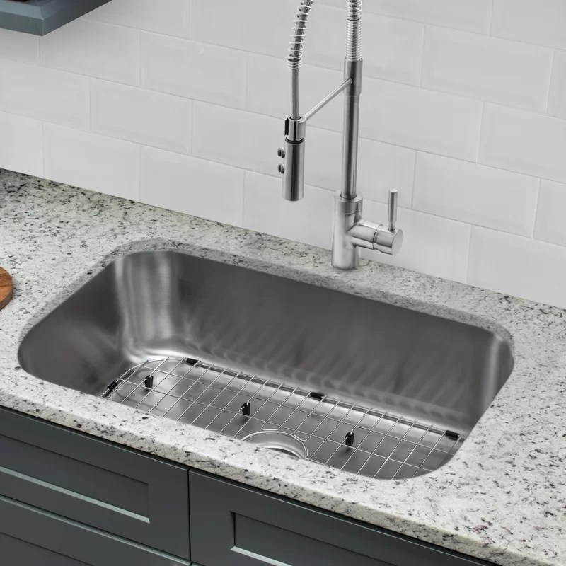 30 kitchen sink cabinet doors only cahaba l x 18 w undermount with faucet and soap dispenser