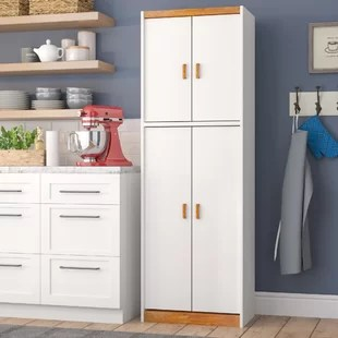 tall kitchen pantry retro furniture cabinets you ll love wayfair garretson 72