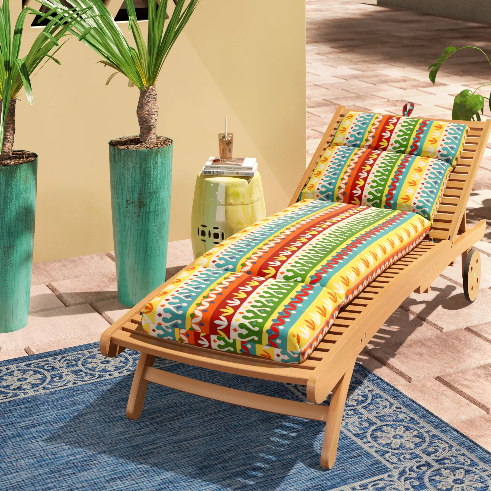 chaise lounge patio furniture cushions