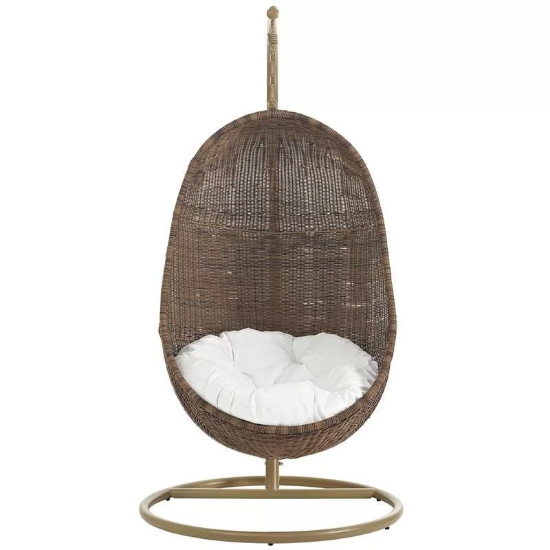 buy chair swing stand hanging mitre 10 bean with reviews joss main