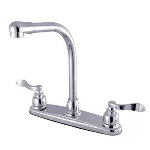 no touch kitchen faucet space saver design wayfair high arch