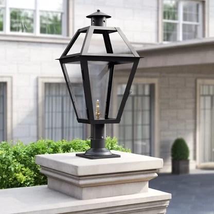 luxury outdoor post lanterns perigold