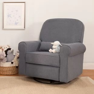chairs that swivel and recline portable argos small rocker recliners wayfair ruby reclining glider