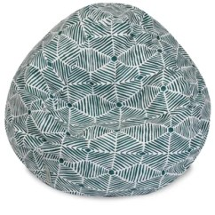 Teal Bean Bag Chair Galvanized Steel Rail Made In The Usa Beanbag Chairs Loungers Joss Main Quickview