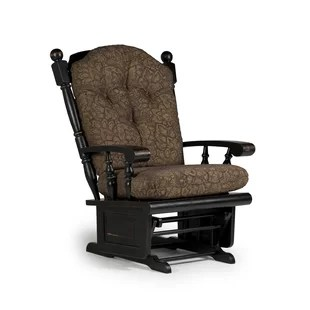 rocking chair with footrest india chicco portable high made in the usa gliders ottomans you ll love wayfair esquina wooden rocker glider
