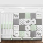 Sweet Jojo Designs Navy Blue Mint And Grey Crib Bed Skirt Dust Ruffle For Boys Or Girls Gender Neutral Mod Arrow Collection Baby Bedding Sets