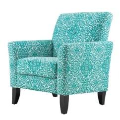 Damask Accent Chair Bed Blue Chairs You Ll Love Wayfair Deer Trail Armchair