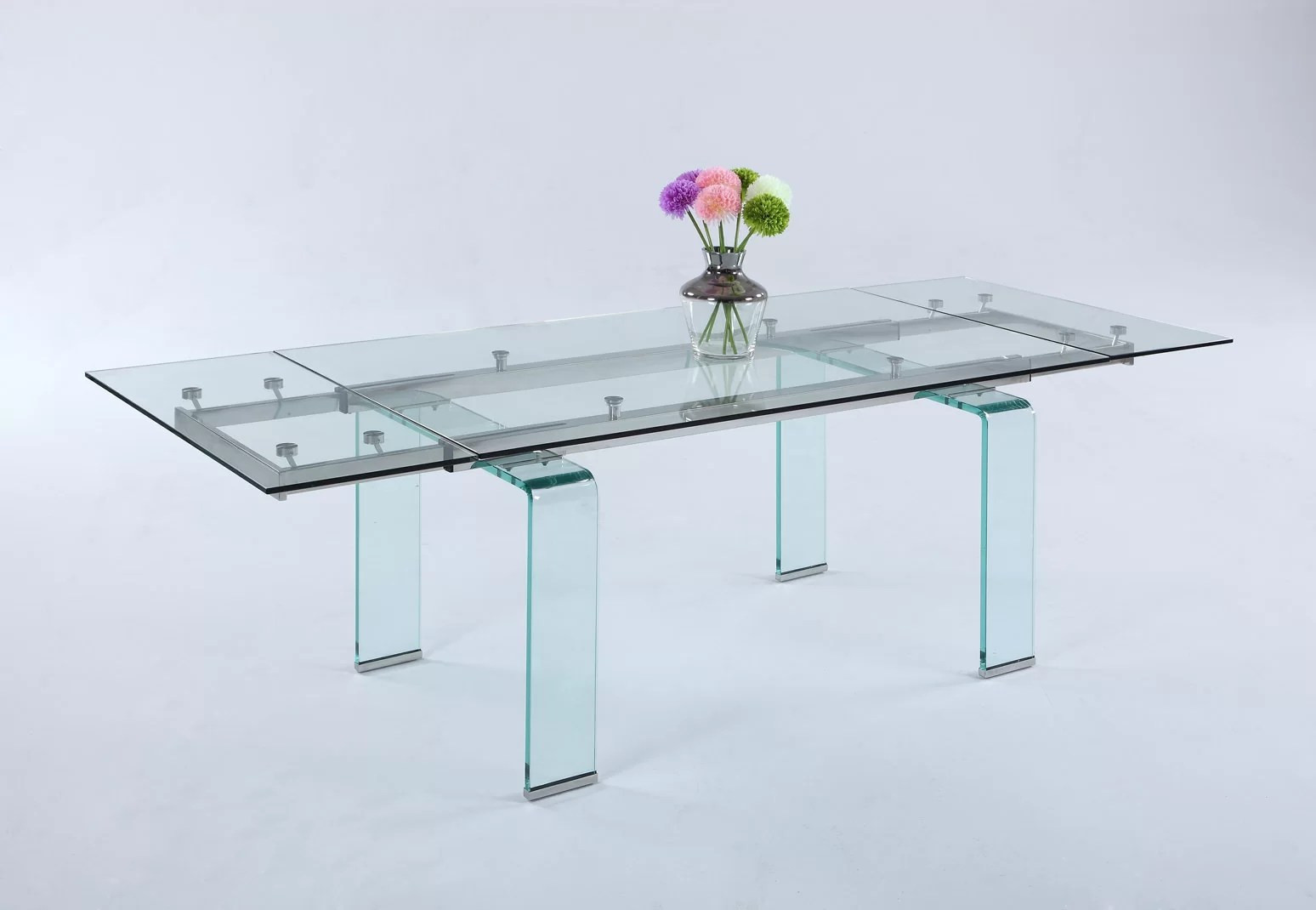 Orren Ellis Krissie Extendable Dining Table Wayfair