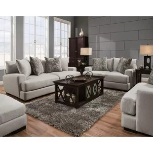 gray living room sets sofa and 2 chairs furniture wayfair jesup configurable set