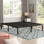 Alwyn Home 16 Steel Platform Bed Reviews Wayfair