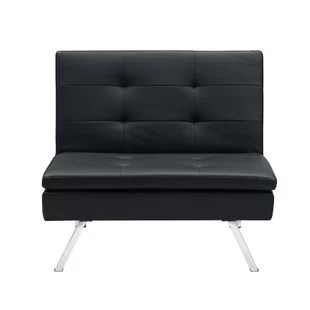 chair to bed convertible portable back support chairs for sitting on floor wayfair johnathan
