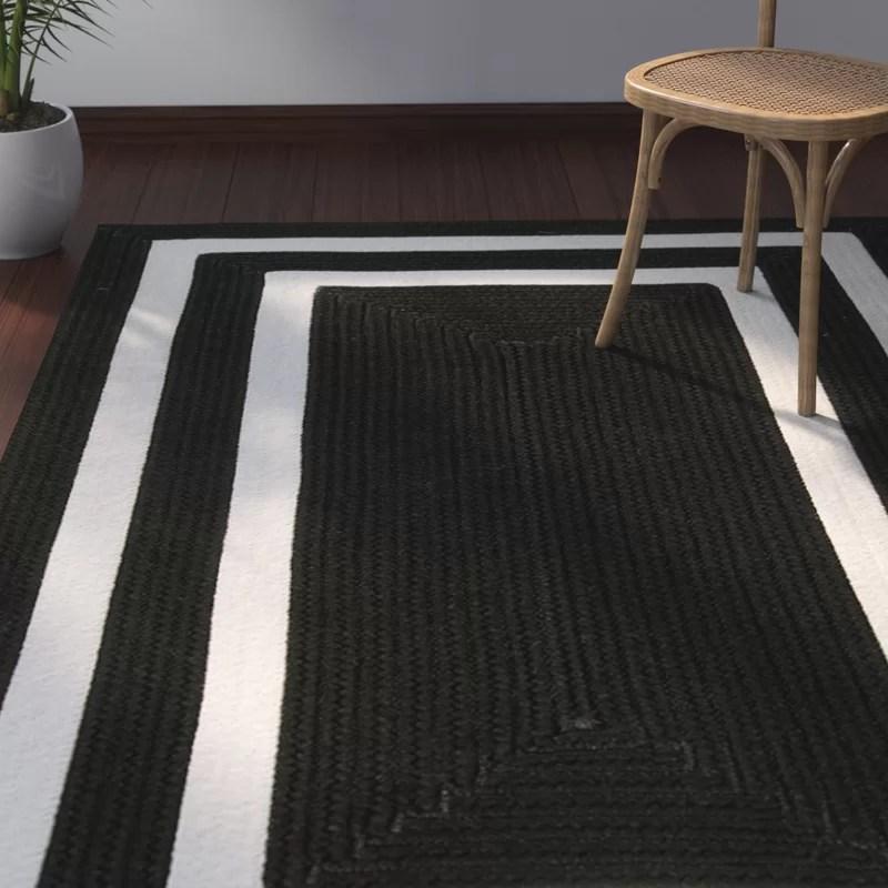 marti black indoor outdoor area rug