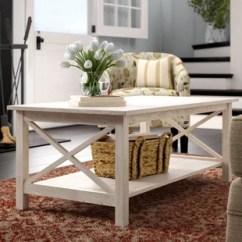 Tables In Living Room Furniture Ashley Farmhouse Rustic Coffee Birch Lane Quickview