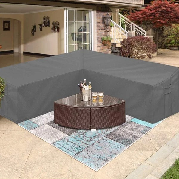 extra large outdoor sofa cover