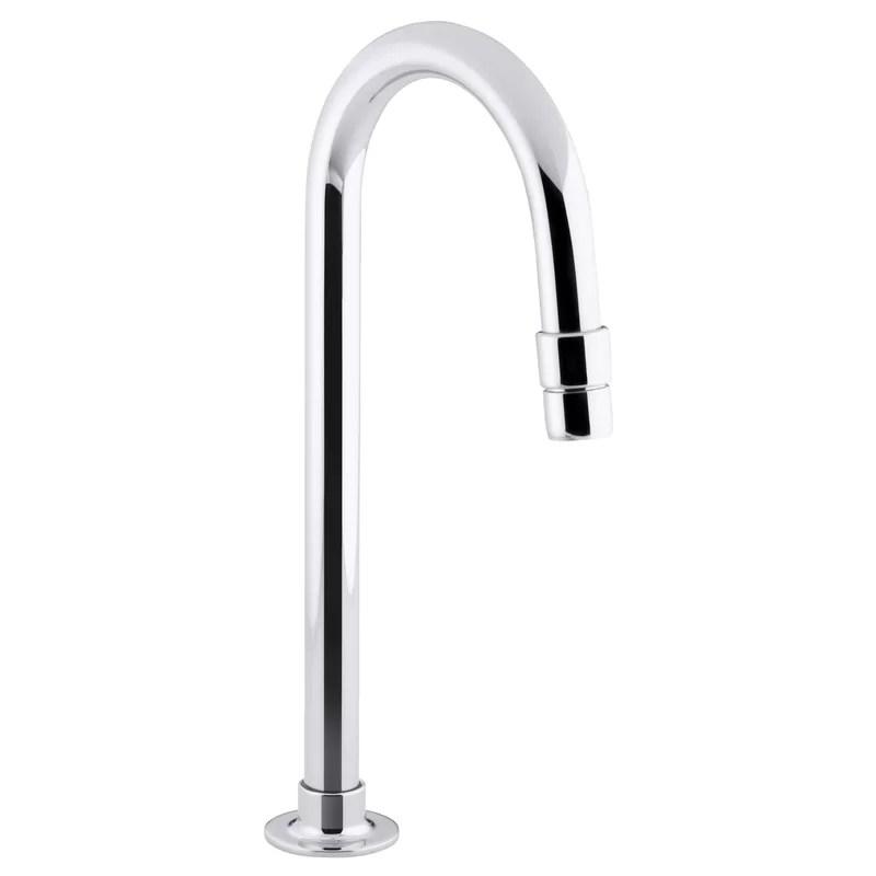 bathroom sink gooseneck spout with aerator