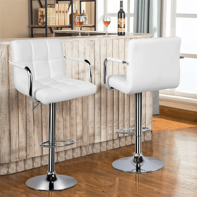 Leather Counter Stool Swivel
