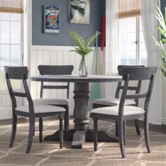 Kitchen Furniture Sets Portable Islands With Seating 5 Piece Round Dining Room You Ll Love Wayfair Silverman Set