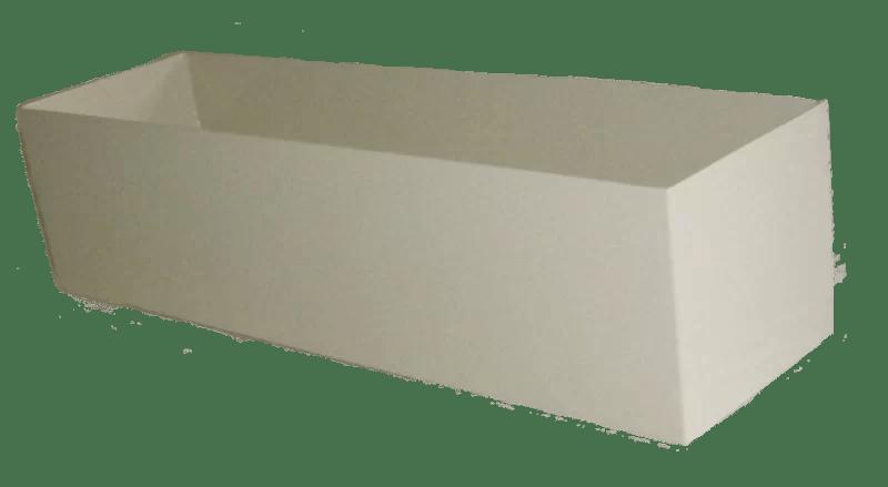 Rimless Composite Planter Box Color: Gray