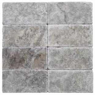 3 x 6 travertine marble look wall floor tile