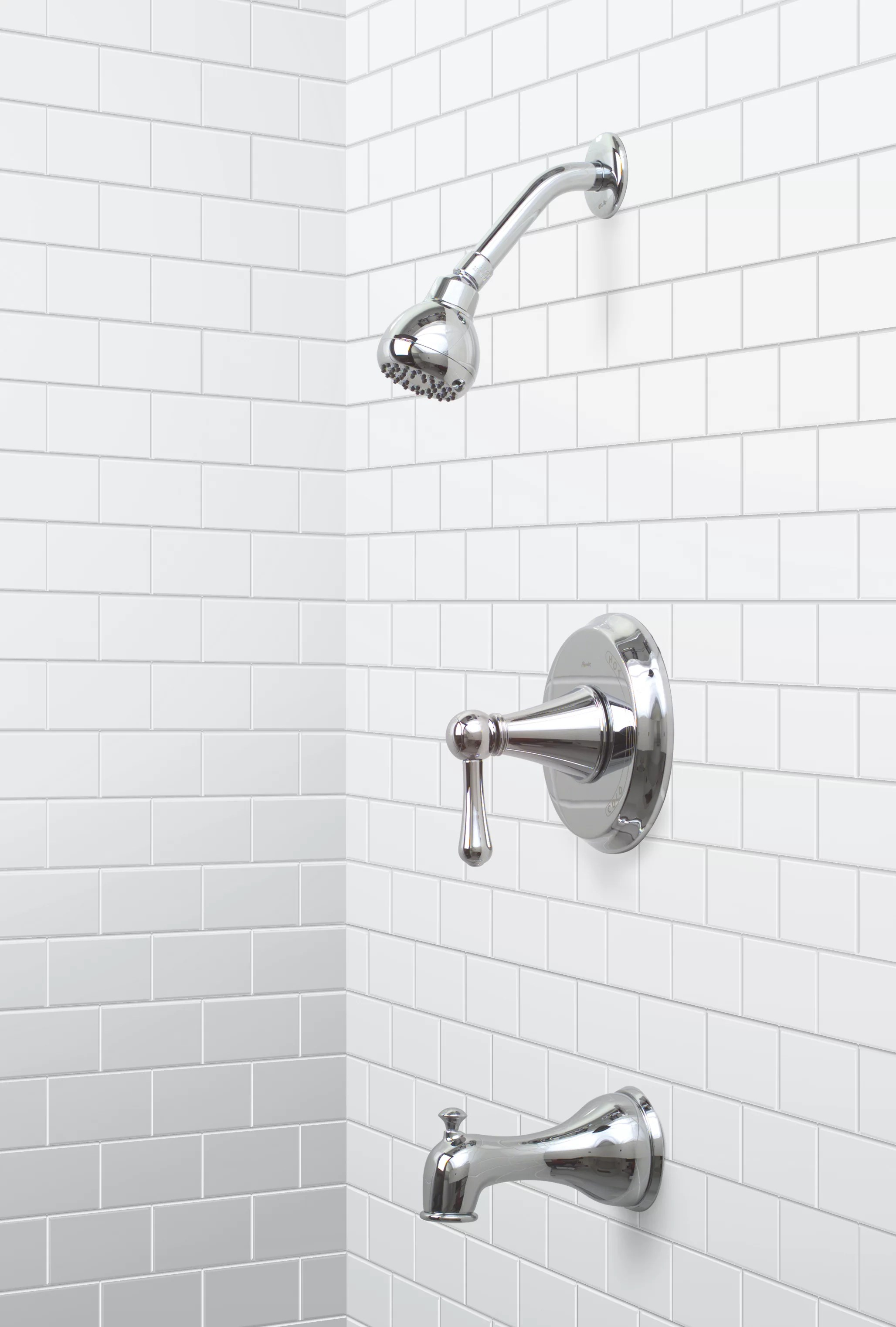 sonoma single handle diverter tub and shower faucet
