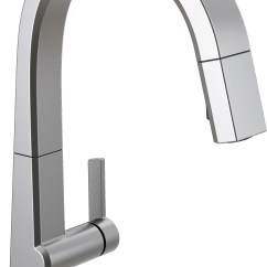 Delta Single Handle Kitchen Faucet Stainless Steel Doors For Outdoor Pivotal Pull Down Touch With Touch20 Technology Reviews Wayfair Ca