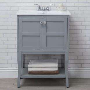 wynkoop 24 single bathroom vanity set