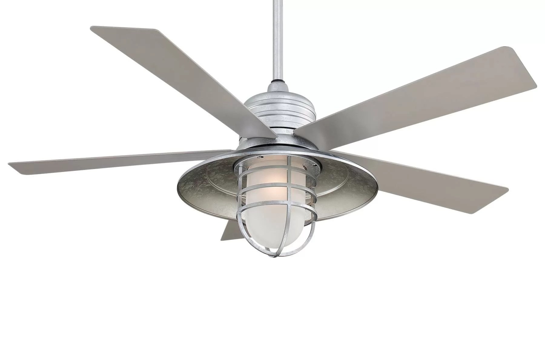 Minka Aire 54 Rainman 5 Blade Led Standard Ceiling Fan With Wall Control And Light Kit Included Reviews Wayfair