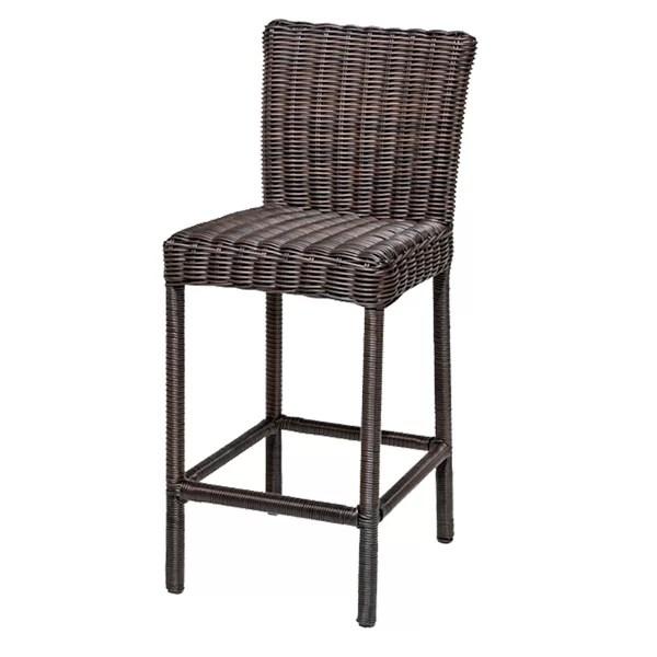 outdoor bar chairs pop up beach tk classics venice 30 patio stool reviews wayfair