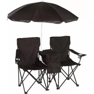 lawn chair with canopy office qatar living beach chairs you ll love wayfair quickview