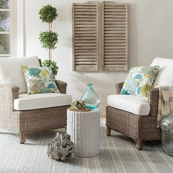 Farmhouse Rustic Small Space Outdoor Furniture Birch Lane