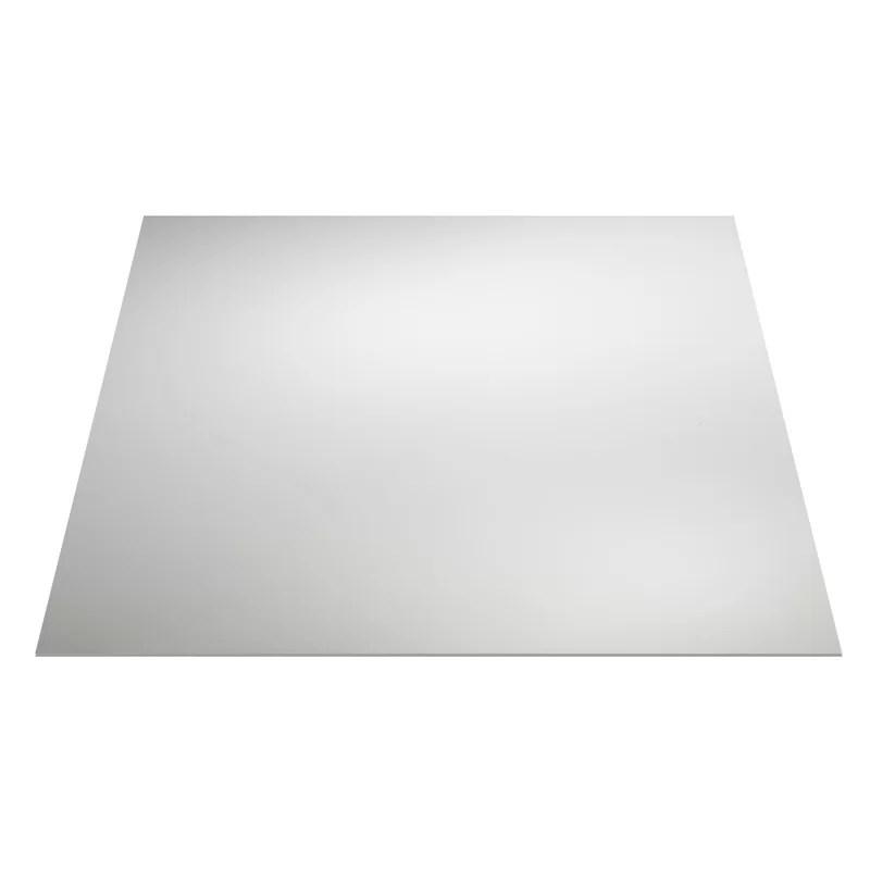 waterproof performance series 2 ft x 2 ft drop in pvc ceiling tile in white