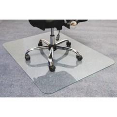 Desk Chair Glass Mat Vintage Wrought Iron Chairs Wayfair Cleartex Glaciermat Ultimat Hard Floor Straight Edge