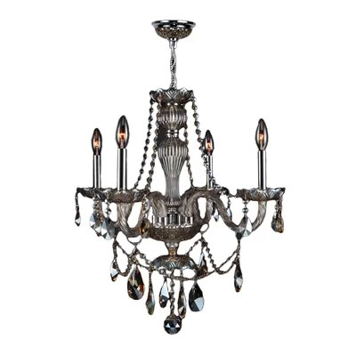 Doggett 4 Light Chain Candle Style Chandelier Astoria