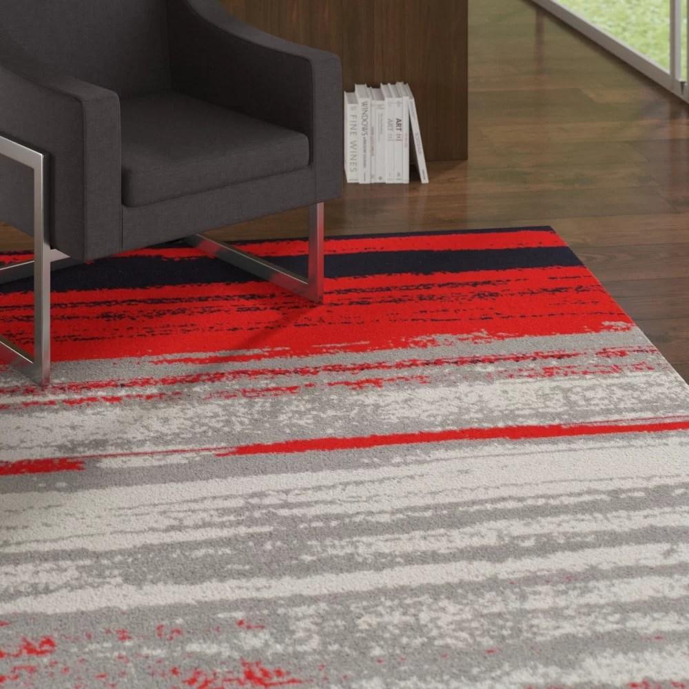 grieco red indoor outdoor area rug