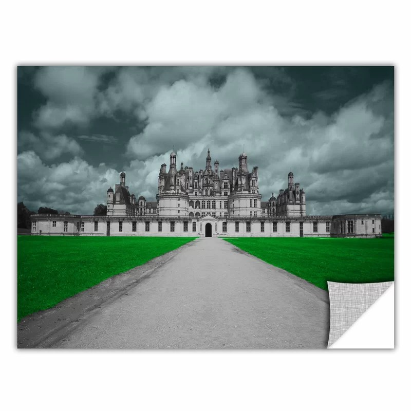 Castle by Revolver Ocelot Photographic Print  Removable Wall Decal Size: 32 H x 48 W x 0.1 D