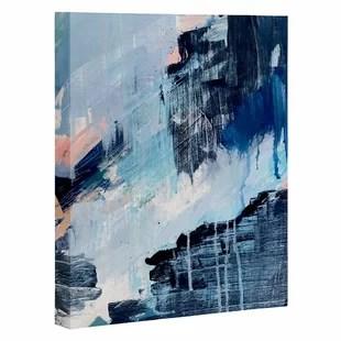 blue wall art joss