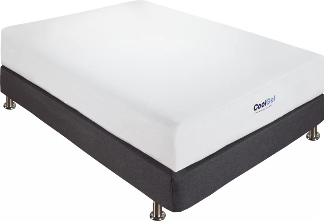Nashville Cool Gel 8 Memory Foam Mattress