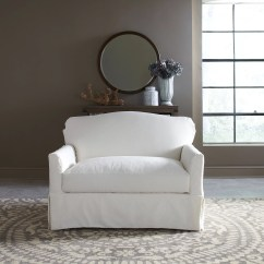 Chair And A Half Slipcovers Diy Folding Cap Covers Fairchild Slipcovered Reviews Birch Lane